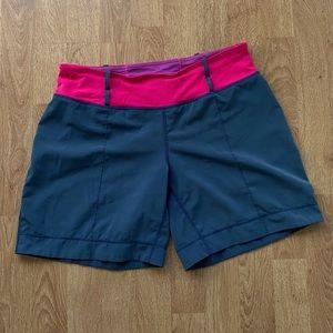 Lululemon Wet Dry Warm Vintage Shorts Size 6